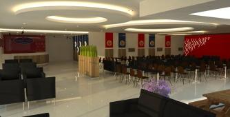 Dining Hall Mie Pasar Baru